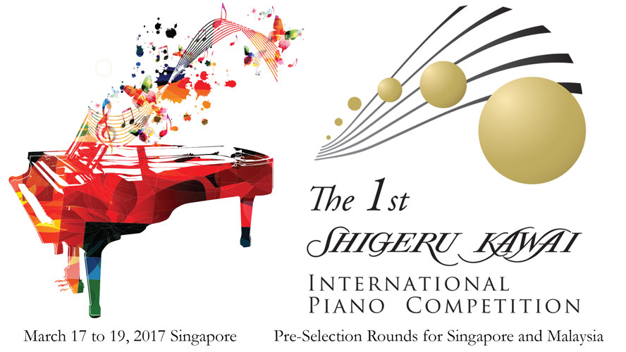 The 1st Shigeru Kawai International Piano Competition - MS WORKS